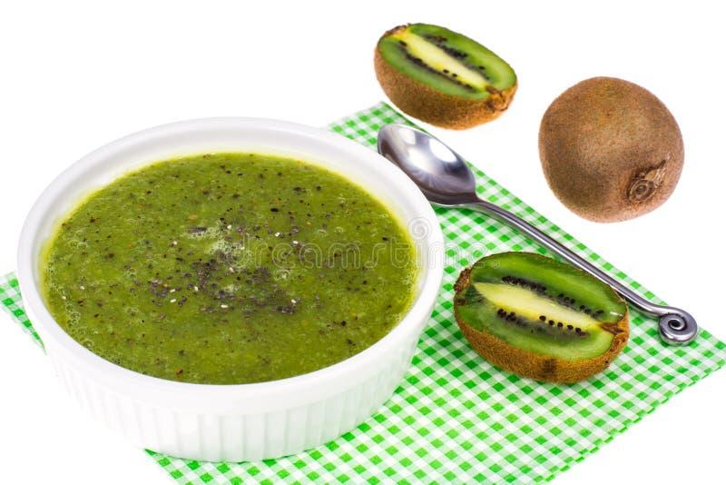 Embroma el menú del ` del kiwi foto de archivo libre de regalías