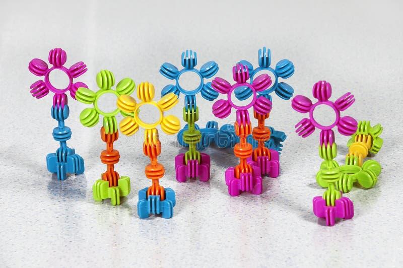 Embroma los juguetes del lego imagen de archivo libre de regalías