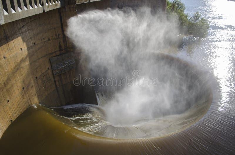 Embudo del agua imagen de archivo
