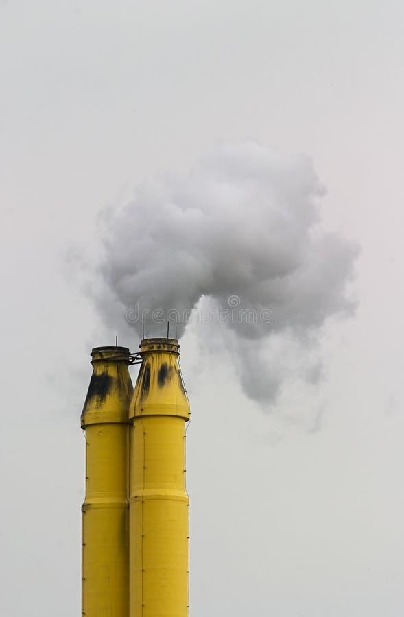 Embudo Que Fuma Imagen de archivo libre de regalías