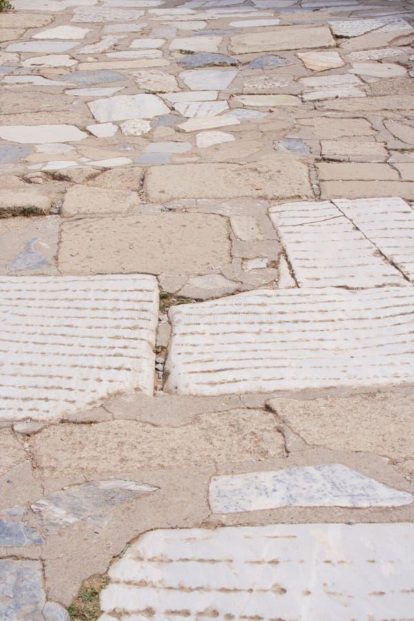 Embutimento Antigo, Ephesus, Turquia Fotografia de Stock