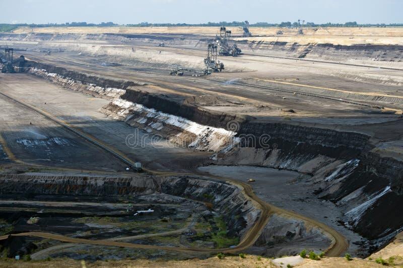 Emenda de carvão fotografia de stock