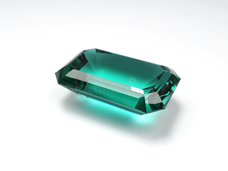 Emerald stock photography