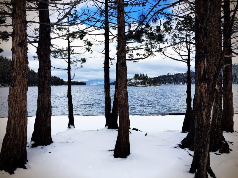Emerald Bay stockbild