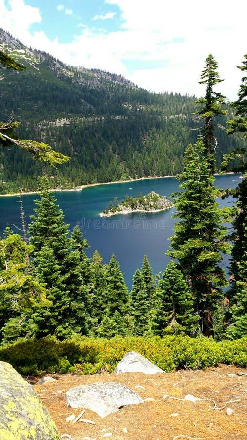 Emerald Bay foto de archivo