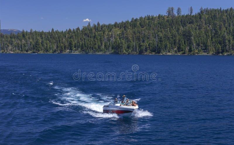 Emerald Bay Boating stock foto's