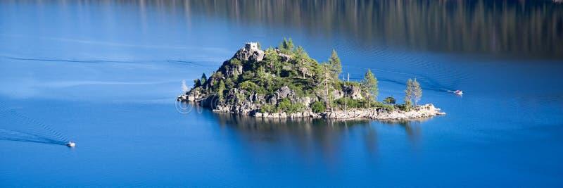 Emerald Bay-eiland stock foto