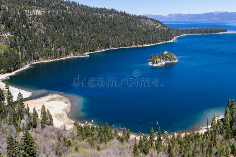 Download Emerald Bay, Lake Tahoe stock image. Image of travel - 56333245