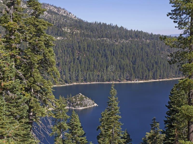 Emerald Bay State Park, el lago Tahoe del sur, CA fotos de archivo libres de regalías