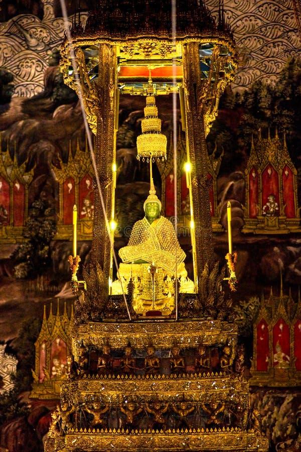 Free Emerald Buddha Inside Wat Phra Kaeo Temple, Bangk Royalty Free Stock Image - 7021306