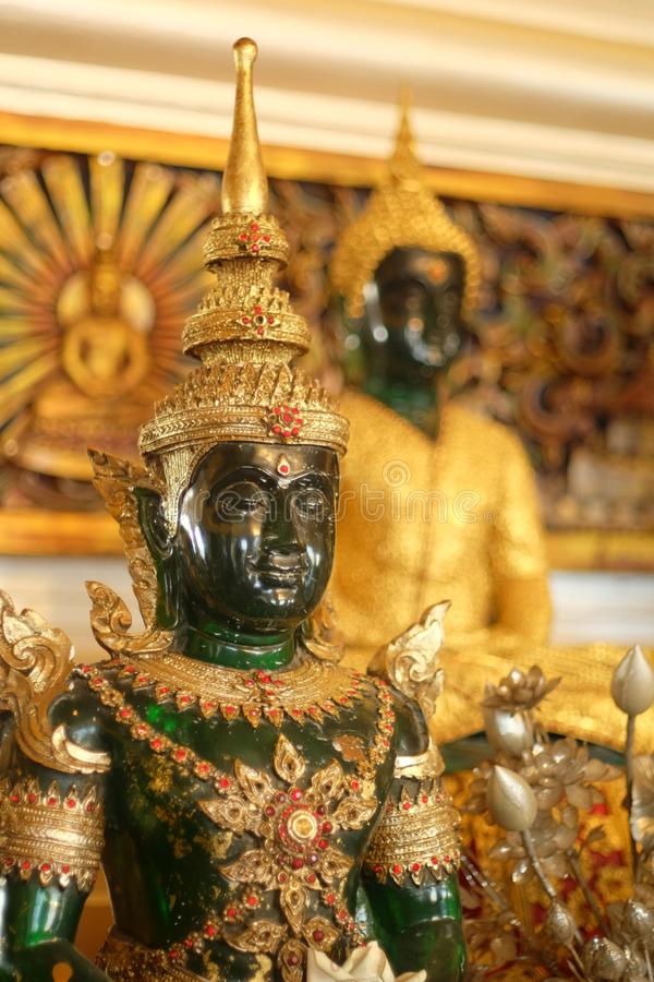 Emerald Buddha royalty free stock photo