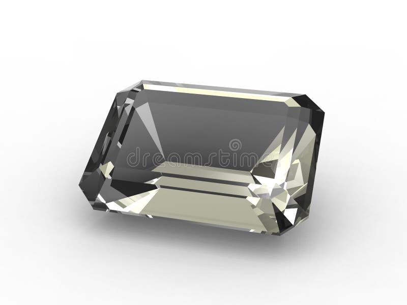 Download Emerald Cut Diamond Zirconium Stock Illustration - Image: 10494233