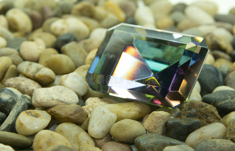 Download Emerald Cut Faceted Gemstone Stock Image - Image: 25375081
