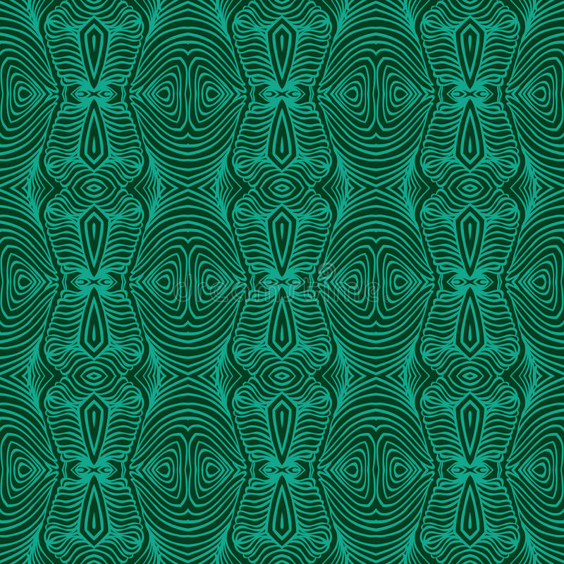Emerald green, vector malachite texture vector illustration