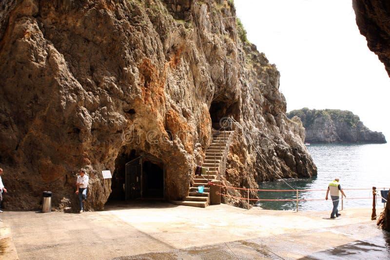 Emerald Grotto Italy images libres de droits