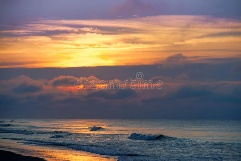 Emerald Isle Morning stock foto's
