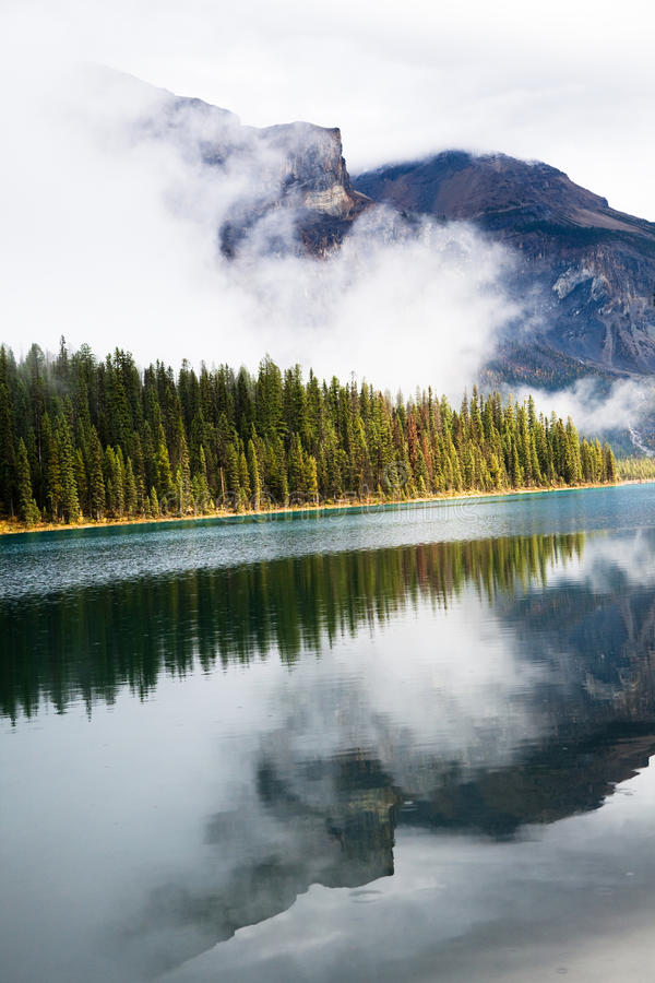 Download Emerald Lake stock photo. Image of landscape, forest - 21868878