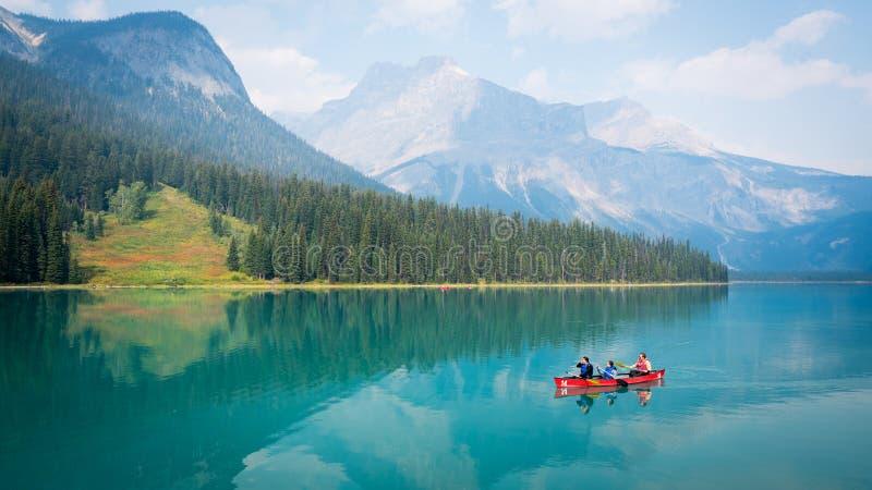 Emerald Lake, CANADA stock photo