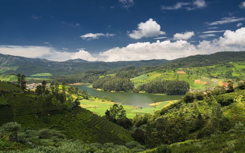 Emerald Lake, Nilgiris Ooty. Emerald Lake, Nilgiris (Ooty), Tamilnadu, India stock photos