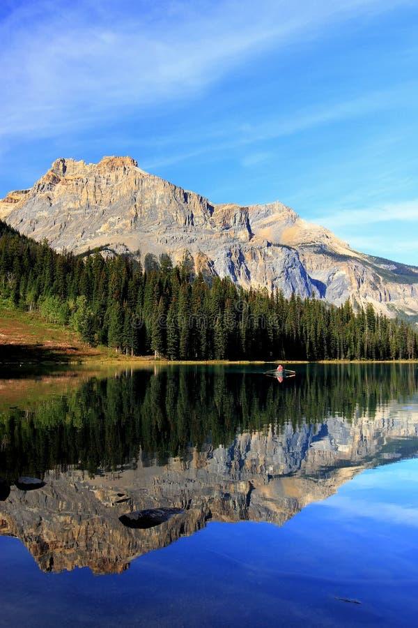 Emerald Lake, Yoho National Park, Britisch-Columbia, Kanada stockfoto