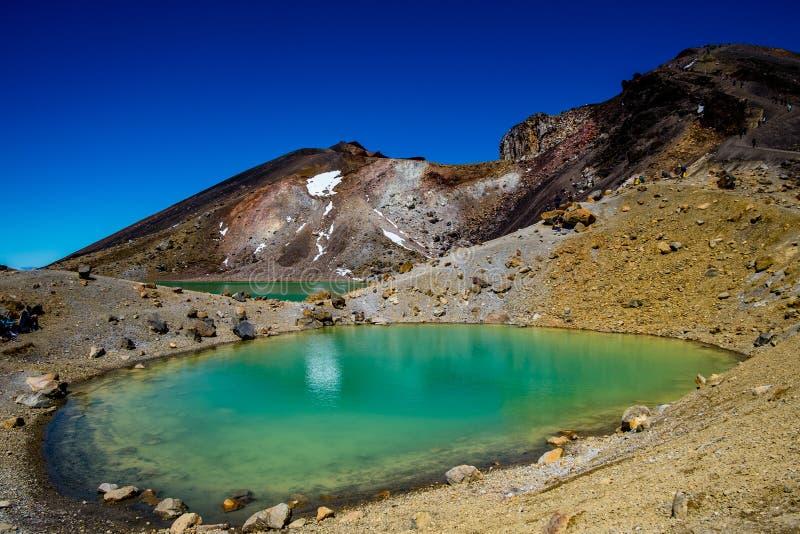 Emerald Lakes arkivbilder