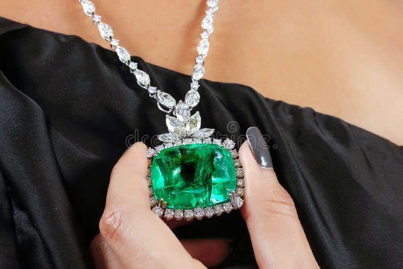 Emerald Necklace lizenzfreies stockbild