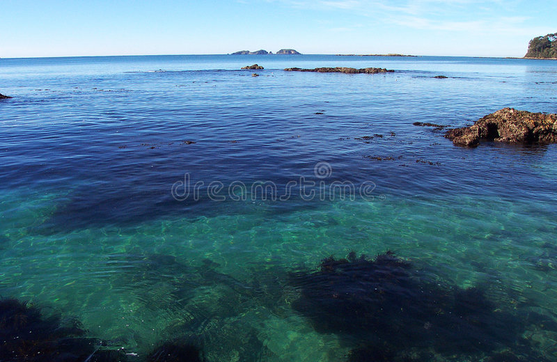 Emerald Ocean royalty free stock photo