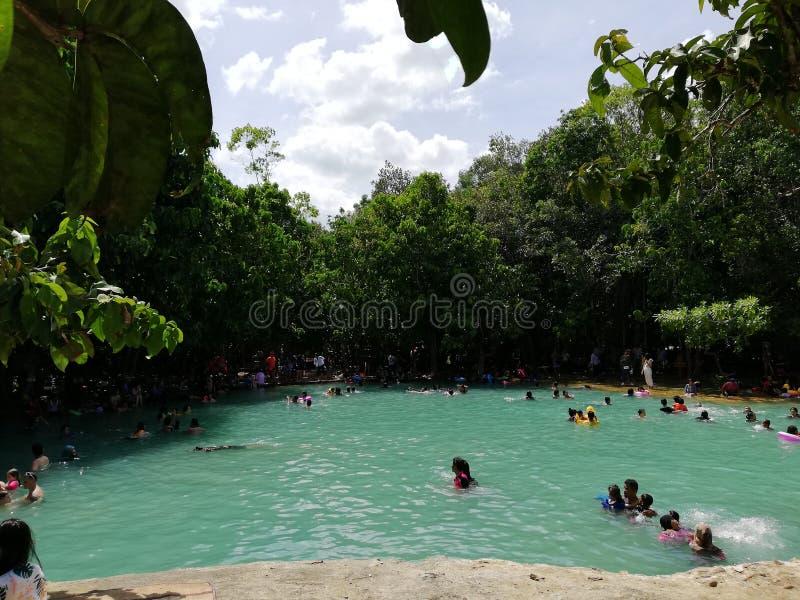 Emerald Pool imagen de archivo