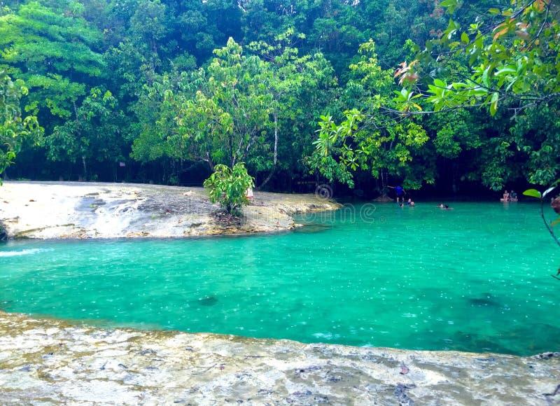 Emerald Pool, Krabi, Tailandia imágenes de archivo libres de regalías