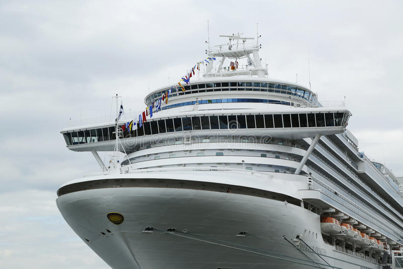 Download Emerald Princess Cruise Ship Bridge Editorial Image - Image: 34536525