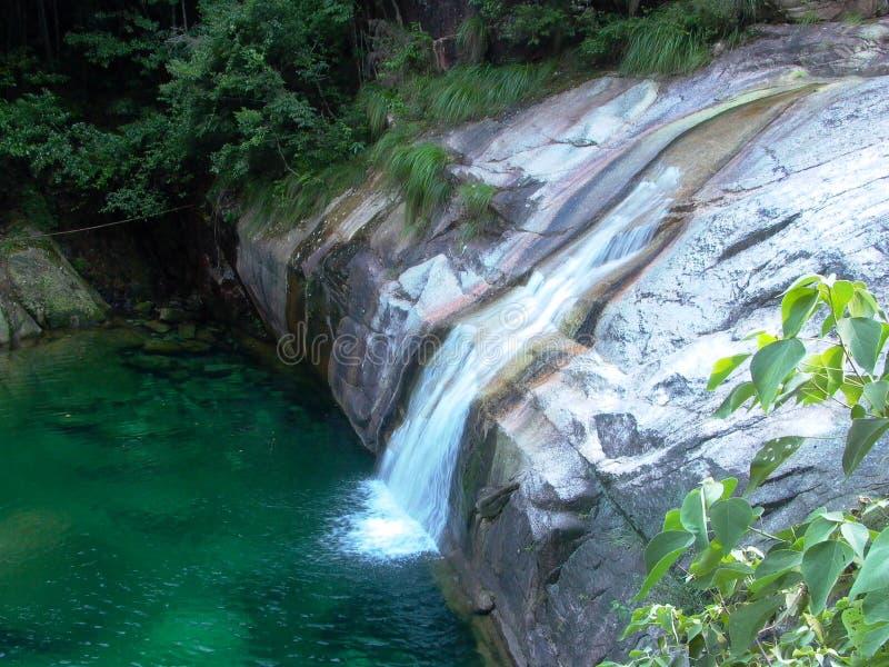 Emerald Valley, montagne jaune, Chine photographie stock