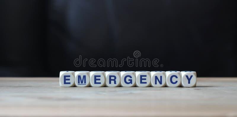 Emergência imagens de stock
