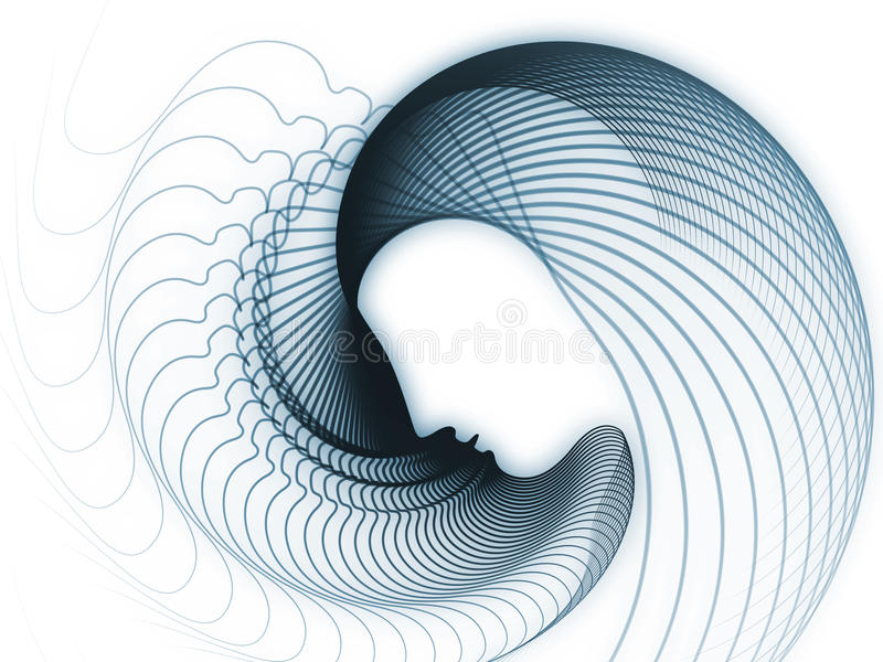 Download Emergence of Soul Geometry stock illustration. Image of consciousness - 34204398