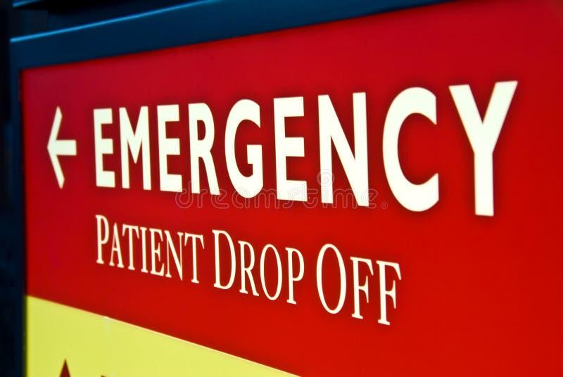 Emergencia: Paciente caiga apagado fotografía de archivo