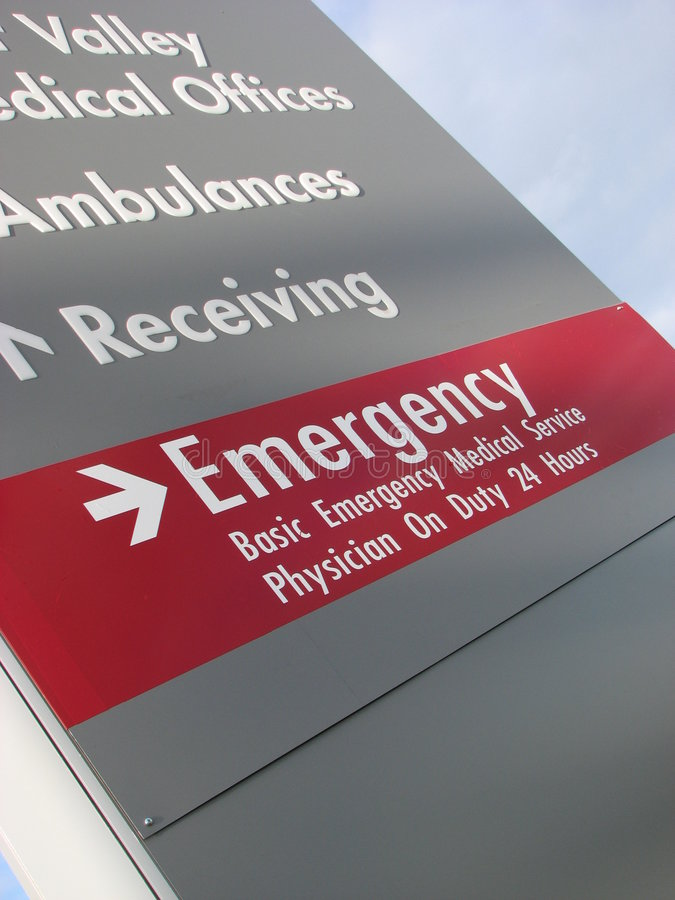 Emergency royalty free stock images