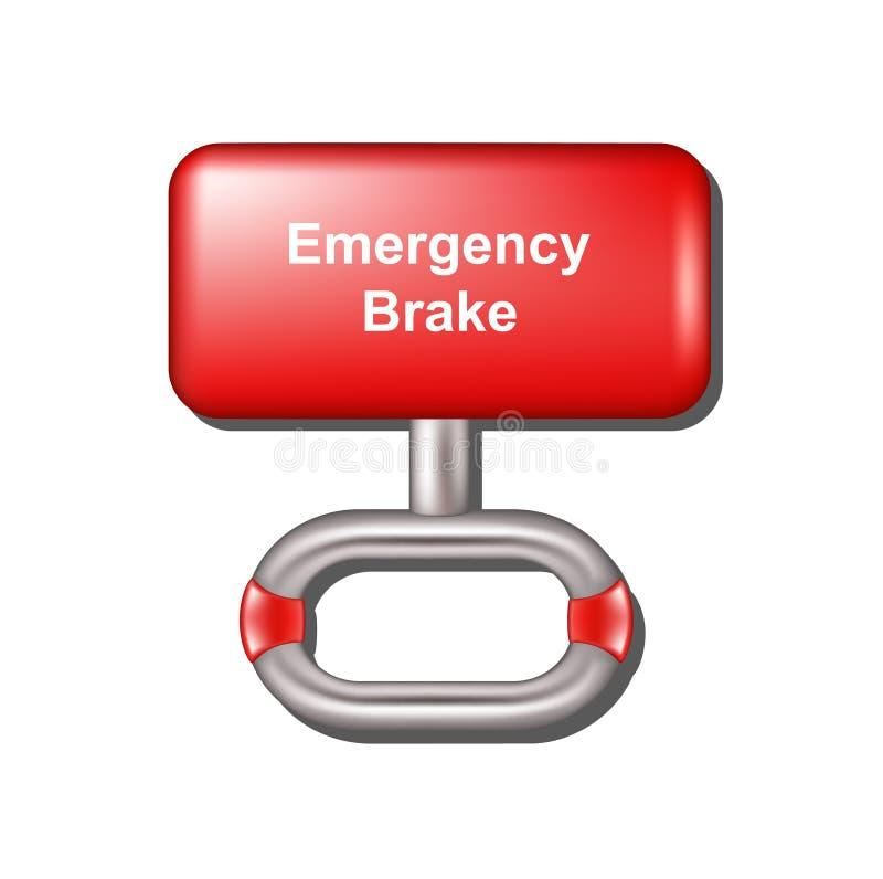 Download Emergency brake stock vector. Image of silver, alarm - 28912678
