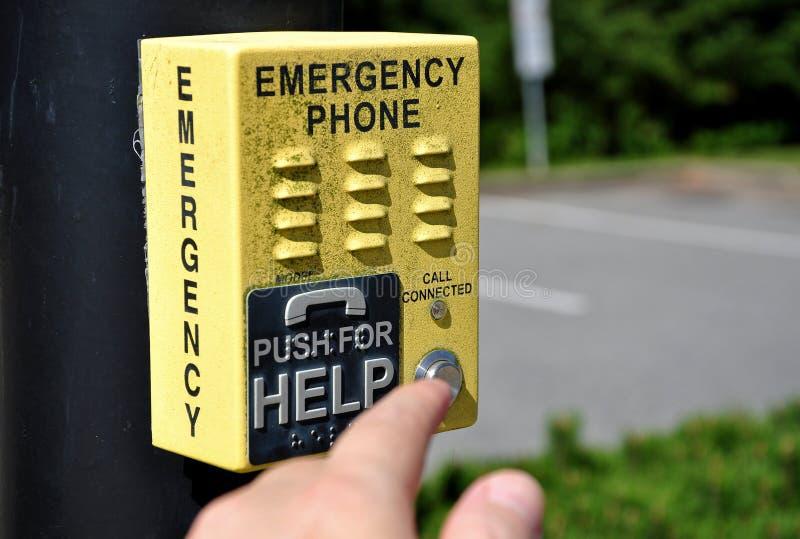 Emergency Call Box royalty free stock image