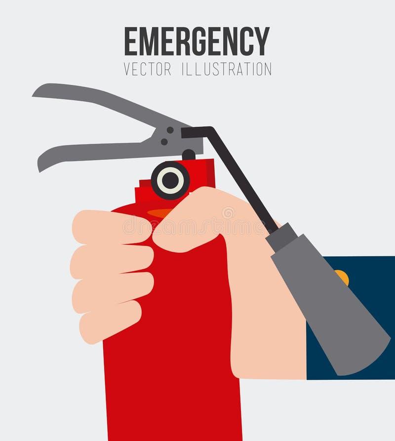 Emergency design, vector illustration. vector illustration