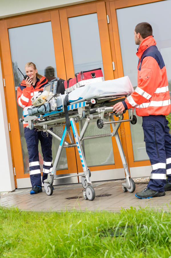 Download Emergency Doctor Home Visit Call Radio Ambulance Stock Photography - Image: 26800392