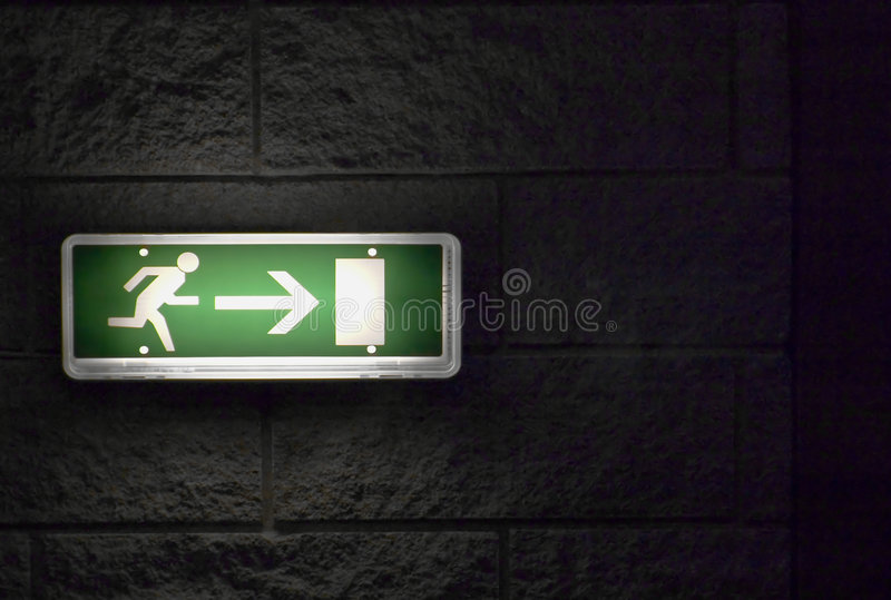 Download Emergency Exit stock image. Image of freedom, escape, safety - 5885