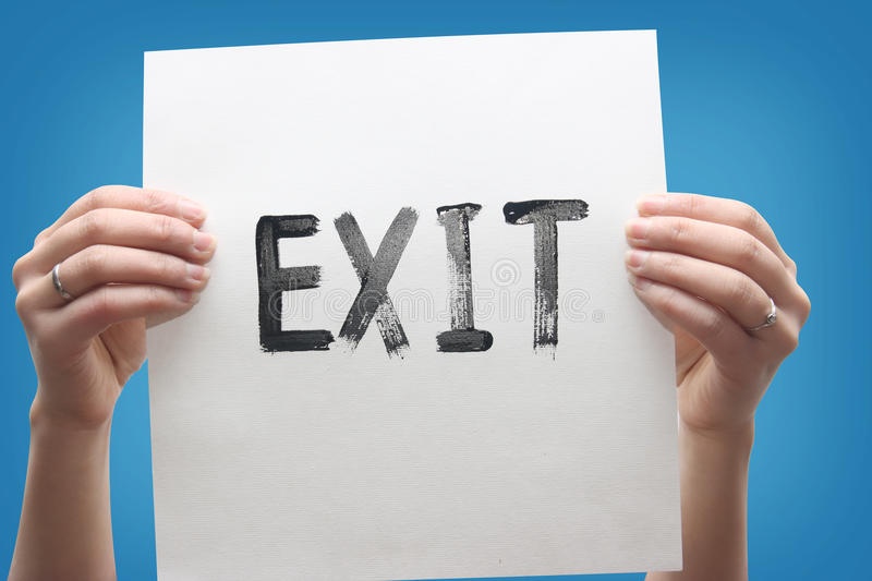 Download Emergency Exit Royalty Free Stock Image - Image: 12882496