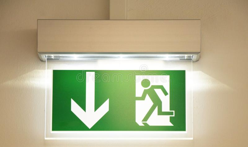 Download Emergency exit stock photo. Image of route, escape, fire - 13715856