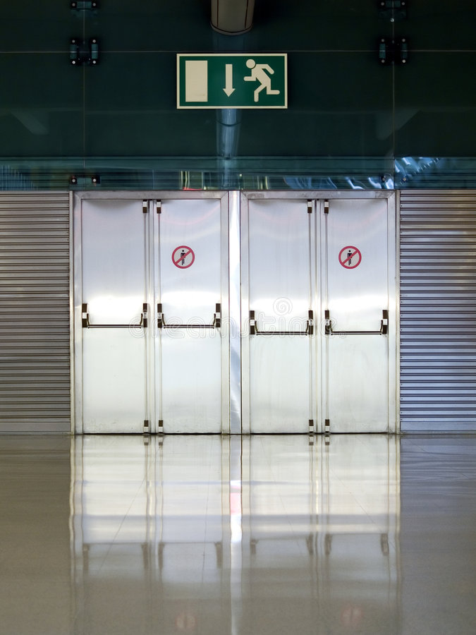 Free Emergency Exit Stock Photography - 1668292