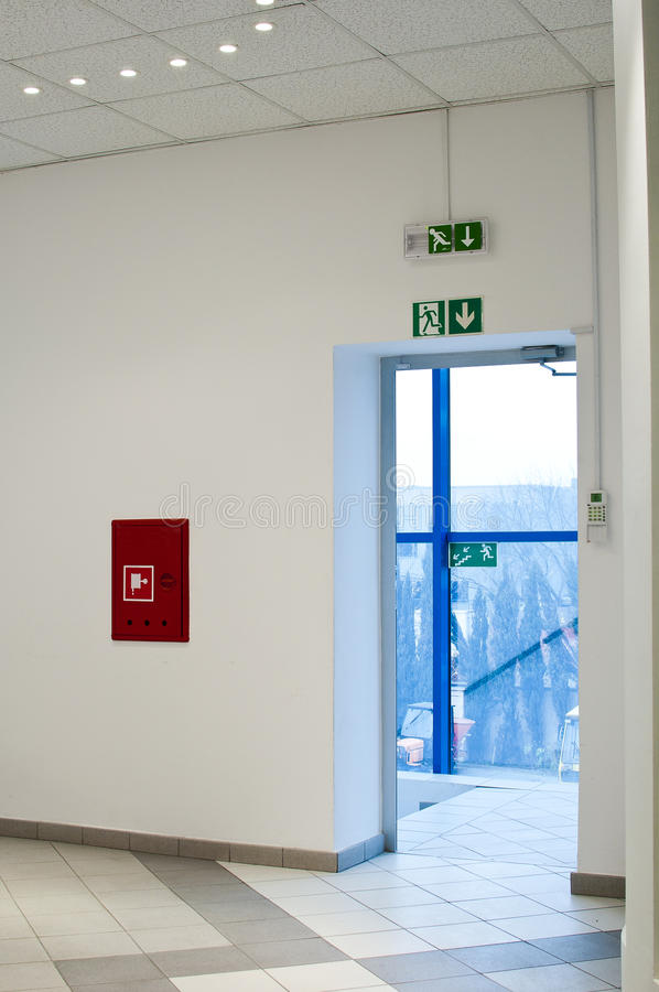 Free Emergency Exit Royalty Free Stock Image - 27835066