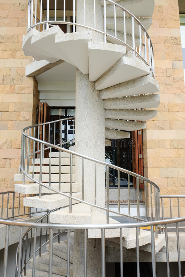 Download Emergency Fire Escape Staircases Stock Image   Image Of Design,  Detail: 80800481