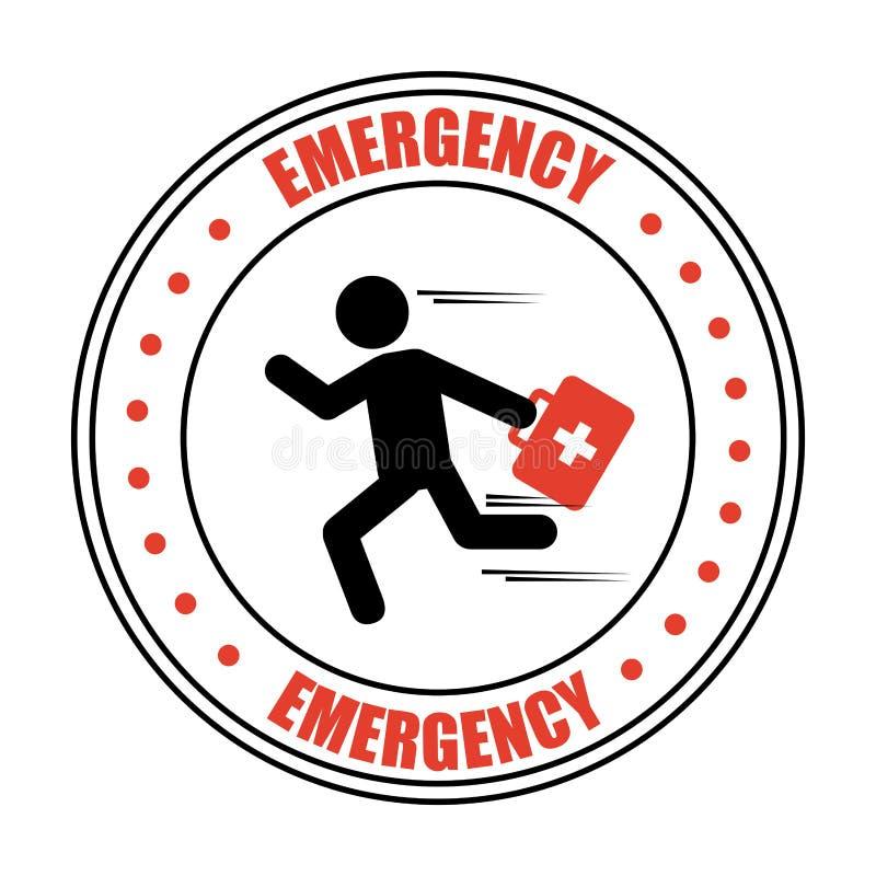Emergency icon. Design, illustration eps10 graphic vector illustration