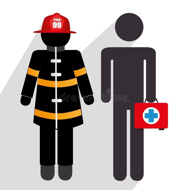 Emergency icons design vector illustration