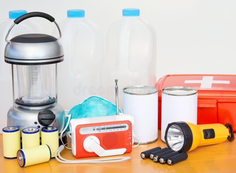 Emergency Preparation Equipment stock photography