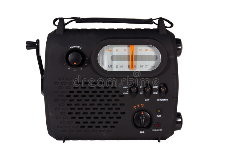 Download Emergency radio isolated stock image. Image of frequency - 18370821