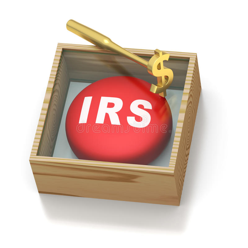Download Emergency Red Pill Reminder For IRS Royalty Free Stock Photo - Image: 18780835
